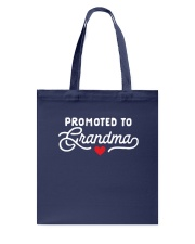 Promoted to Grandma Tote Bag thumbnail