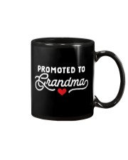 Promoted to Grandma Mug tile