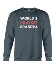 World's Okayest Grandpa Crewneck Sweatshirt front
