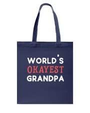 World's Okayest Grandpa Tote Bag thumbnail