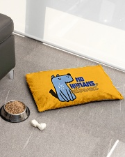 No Humans Allowed Pet Bed - Small aos-pet-bed-small-lifestyle-front-01