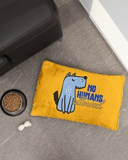 No Humans Allowed Pet Bed - Small aos-pet-bed-small-lifestyle-front-02