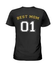 Best Mom Ladies T-Shirt back