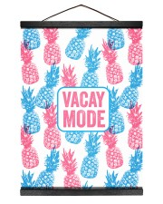 Vacay Mode 12x16 Black Hanging Canvas thumbnail