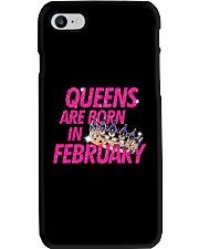 Queens Are Born in February Phone Case i-phone-7-case