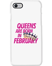 Queens Are Born in February Phone Case thumbnail