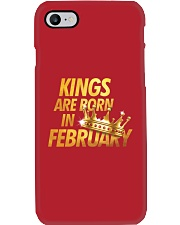 Kings Are Born in February Phone Case thumbnail