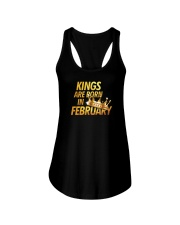 Kings Are Born in February Ladies Flowy Tank thumbnail