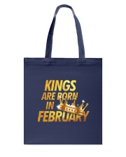 Kings Are Born in February Tote Bag thumbnail