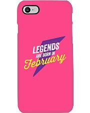 Legends Are Born in February Phone Case thumbnail