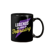 Legends Are Born in February Mug thumbnail
