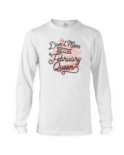 Don't Mess With a February Queen Long Sleeve Tee thumbnail