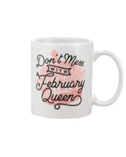 Don't Mess With a February Queen Mug thumbnail