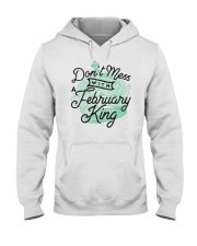 Don't Mess With a February King Hooded Sweatshirt thumbnail