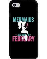 Mermaids Are Born in February Phone Case thumbnail