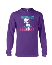 Mermaids Are Born in February Long Sleeve Tee thumbnail