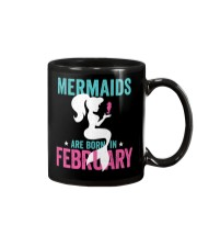 Mermaids Are Born in February Mug thumbnail