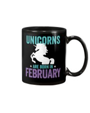 Unicorns Are Born in February Mug thumbnail