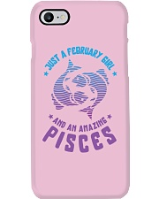 February Girl an Amazing Pisces Phone Case i-phone-7-case