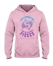 February Girl an Amazing Pisces Hooded Sweatshirt front