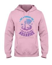 February Girl an Amazing Aquarius Hooded Sweatshirt thumbnail