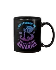 February Girl an Amazing Aquarius Mug thumbnail