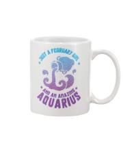 February Girl an Amazing Aquarius Mug front