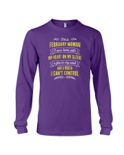 I'm a February Woman Long Sleeve Tee thumbnail