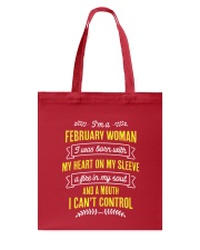 I'm a February Woman Tote Bag thumbnail