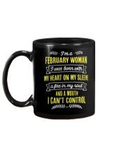 I'm a February Woman Mug back
