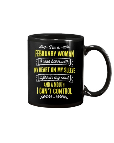 I'm a February Woman