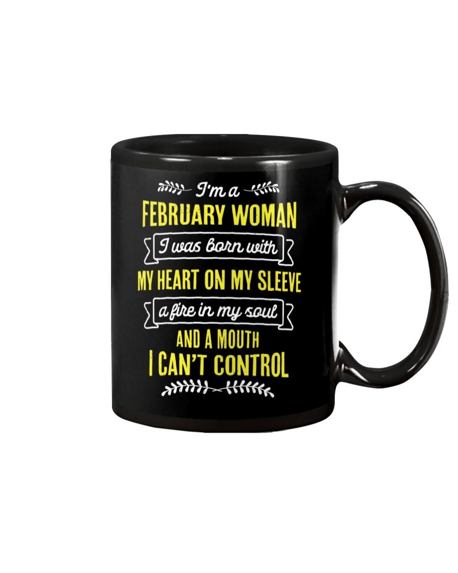 I'm a February Woman Mug
