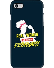 Real Women are Born in February Phone Case thumbnail
