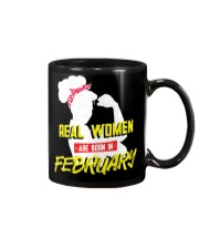 Real Women are Born in February Mug thumbnail