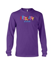 February Born Long Sleeve Tee thumbnail