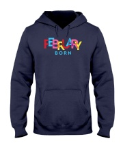February Born Hooded Sweatshirt tile
