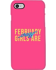 February Girls are Crazy Phone Case thumbnail