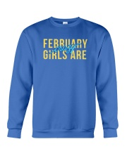 February Girls are Crazy Crewneck Sweatshirt thumbnail