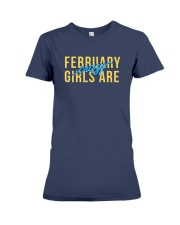 February Girls are Crazy Premium Fit Ladies Tee thumbnail