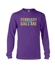 February Girls are Crazy Long Sleeve Tee thumbnail