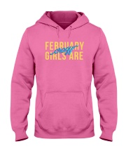 February Girls are Crazy Hooded Sweatshirt thumbnail