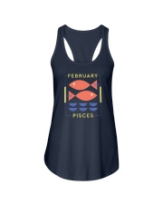 February Pisces Ladies Flowy Tank thumbnail