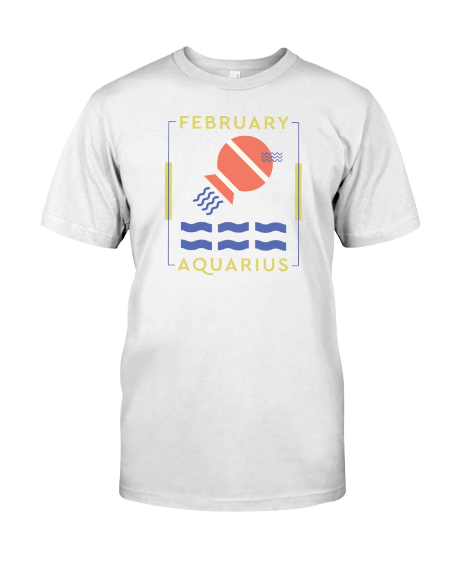 February Aquarius Classic T-Shirt