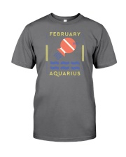 February Aquarius Premium Fit Mens Tee tile