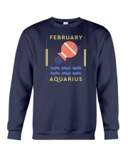 February Aquarius Crewneck Sweatshirt thumbnail