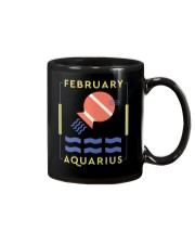 February Aquarius Mug tile