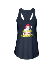 Real Men are Born in February Ladies Flowy Tank thumbnail
