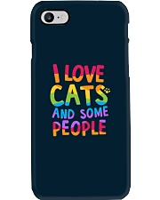 I Love Cats And Some People Phone Case thumbnail