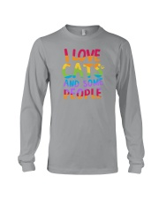 I Love Cats And Some People Long Sleeve Tee thumbnail