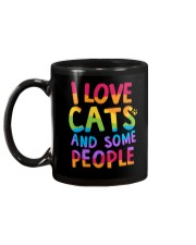 I Love Cats And Some People Mug back
